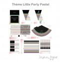 Little Party Pastel kit décoration de fête