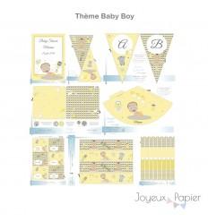Baby Boy kit décoration de fête