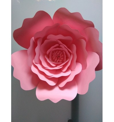 Fleur géante en papier modèle Aurélie