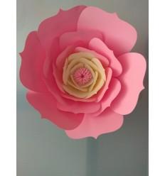Fleur géante en papier modèle Apolline