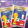 carte à gratter grossesse foot coupe france