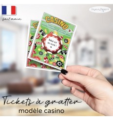 Ticket à gratter annonce grossesse casino