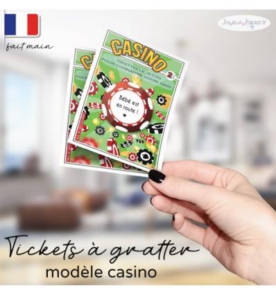carte a gratter grossesse casino
