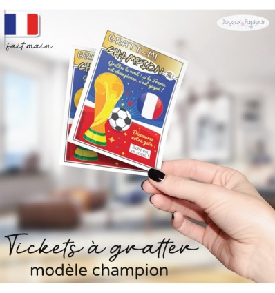 carte a gratter grossesse foot coupe france