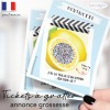 Carte a gratter annonce grossesse citron taille fruit bebe