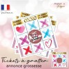 carte a gratter annonce grossesse future mamie