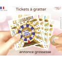 annonce grossesse carte a gratter million