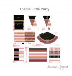 Little Party kit décoration de fête