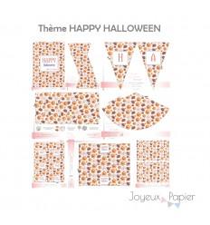 Happy Halloween kit décoration de fête