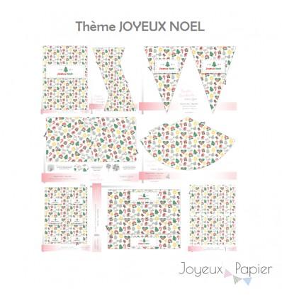 joyeux noel kit décoration de fête