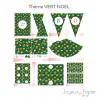 Vert Noël kit décoration de fête