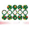 Vert Noel kit à cupcake